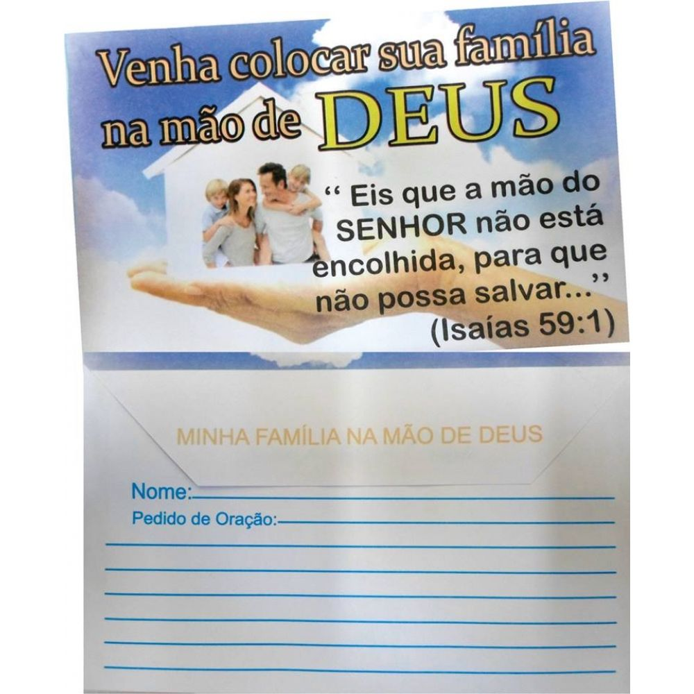 Envelope Familia MG 209